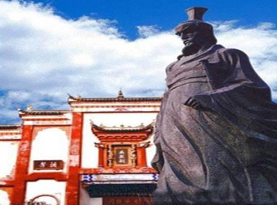 汨罗屈原祠,益阳旅游风景区,益阳旅游景点