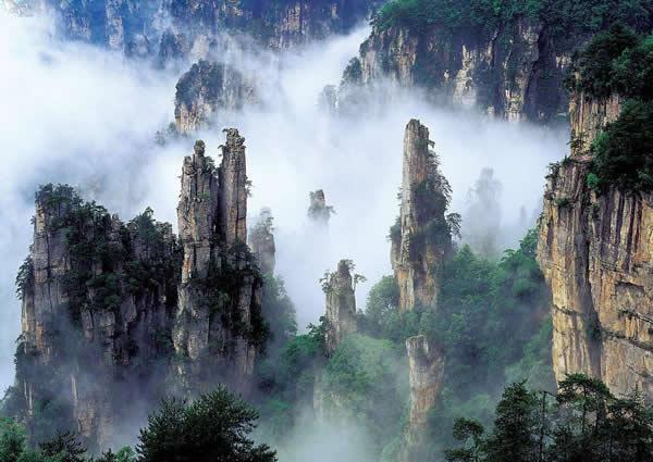 天子山风景区图片