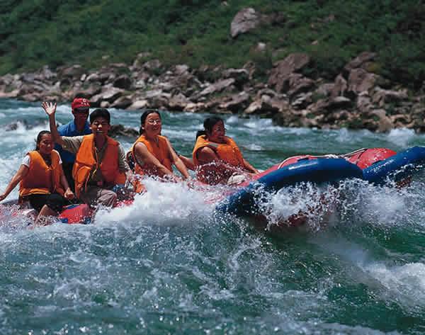 张家界西线风景区,茅岩河漂流旅游景点介绍及图片 - 张家界旅游