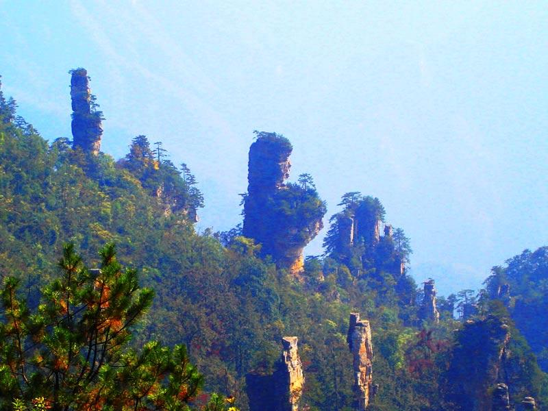 天子山景区——御笔峰